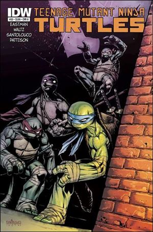 Teenage Mutant Ninja Turtles (2011) 33-A