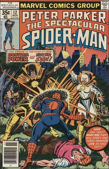 Spectacular Spider-Man (1976) 12-A by Marvel