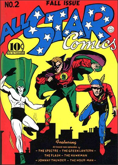 All Star Comics (1940) 2-A by DC