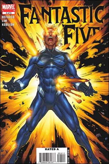 Fantastic Five (2007) 4-A by Marvel
