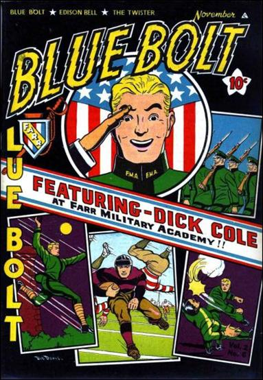 Blue Bolt (1941) 6-A by Novelty Press
