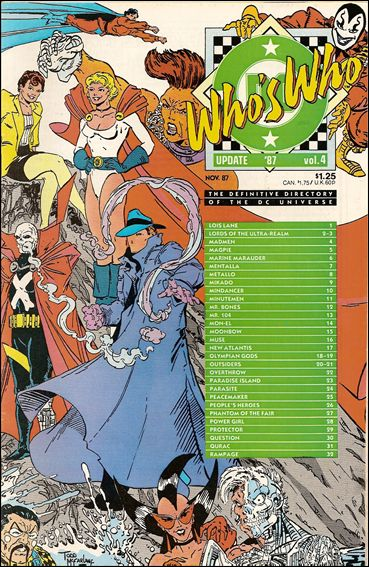 Who's Who: Update '87 4-A by DC