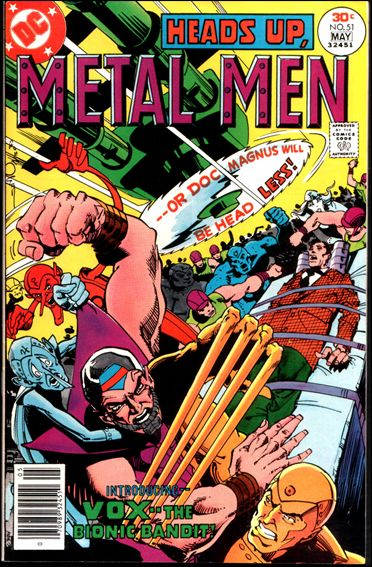 Metal Men (1963) 51-A by DC