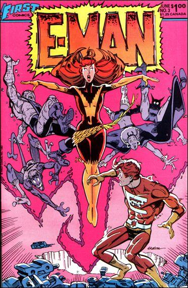 E-Man (1983) 3-A by First