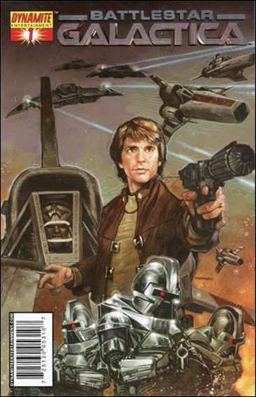 Classic Battlestar Galactica 1-E by Dynamite Entertainment