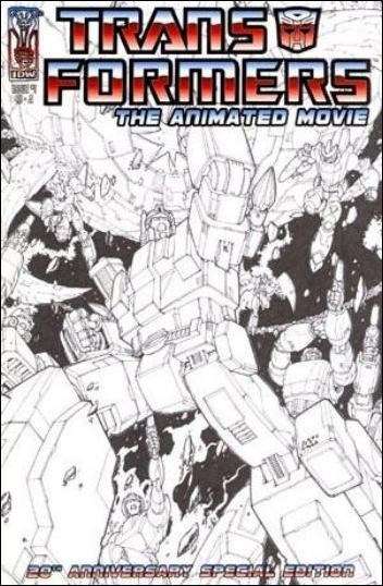 Transformers: The Animated Movie 1-B by IDW