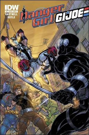 Danger Girl/G.I. Joe 5-B by IDW