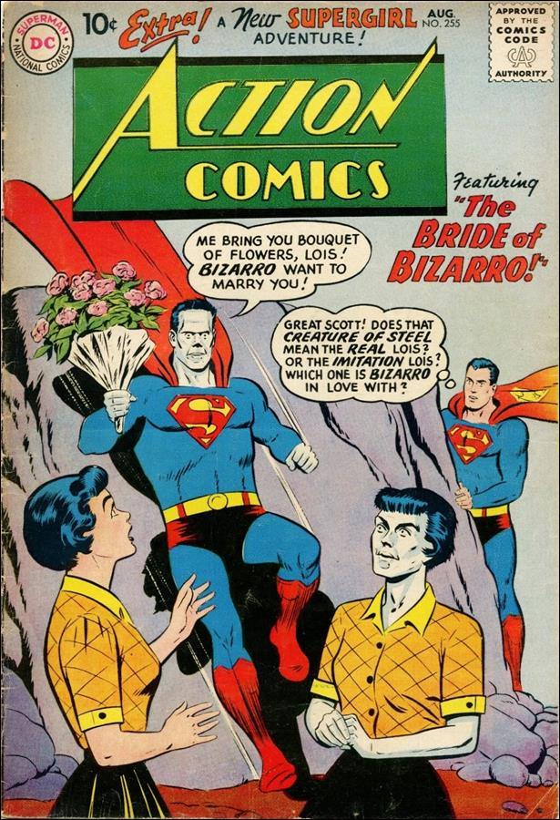 Action Comics (1938) 255-A by DC