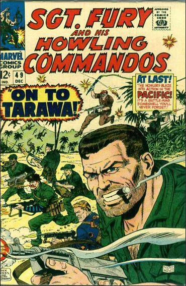 Sgt. Fury and His Howling Commandos 49-A by Marvel