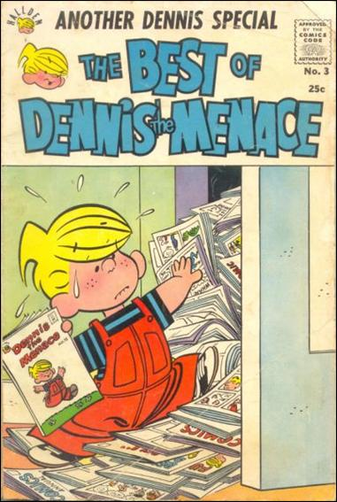 Best of Dennis the Menace 3-A by Hallden