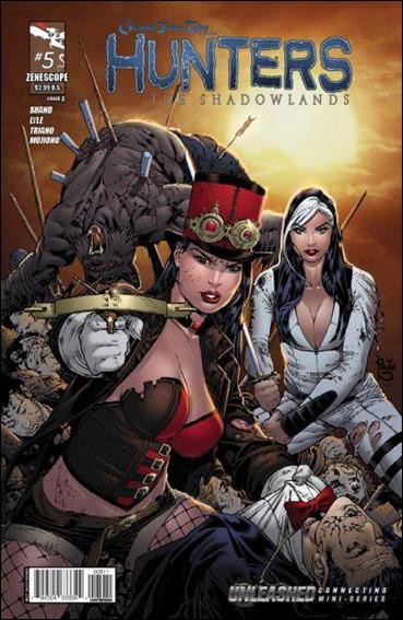 Grimm Fairy Tales Presents Hunters: The Shadowlands 5-A by Zenescope Entertainment