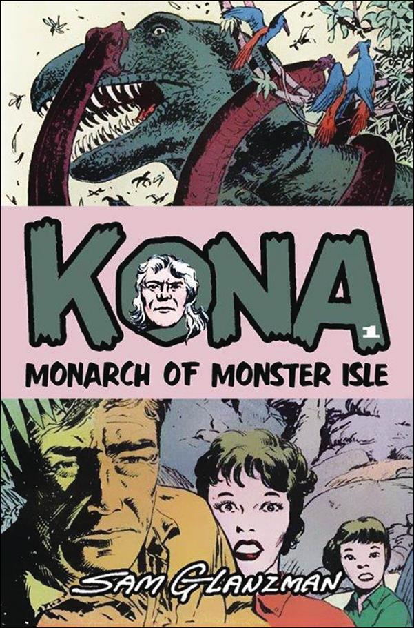 Kona: Monarch of Monster Isle 1-A by It's Alive Press