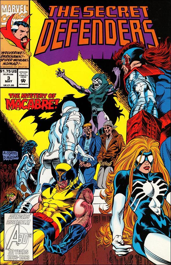 Secret Defenders 3-A by Marvel