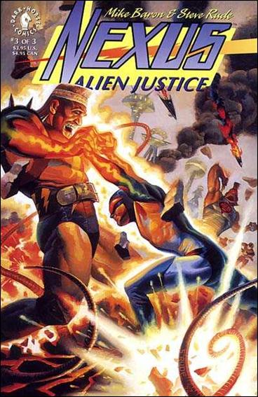 Nexus: Alien Justice 3-A by Dark Horse