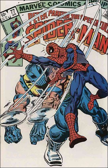 Spectacular Spider-Man (1976) 77-A by Marvel