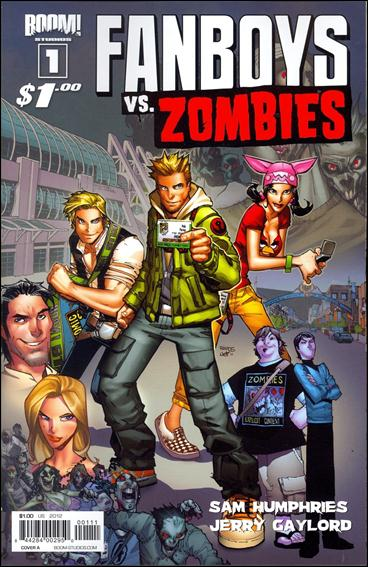 Fanboys vs Zombies 1-A by Boom! Studios