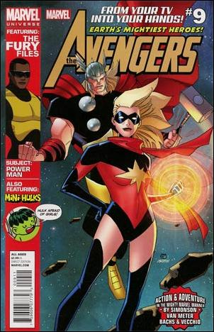 Avengers Earth's Mightiest Heroes (2012) 9-A by Marvel