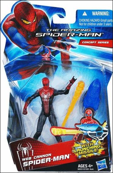 Amazing Spider-Man (2012) Web Cannon Spider-Man (Concept Series) by Hasbro