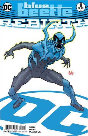Blue Beetle: Rebirth 1-B