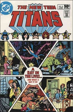 New Teen Titans (1980) 8-A