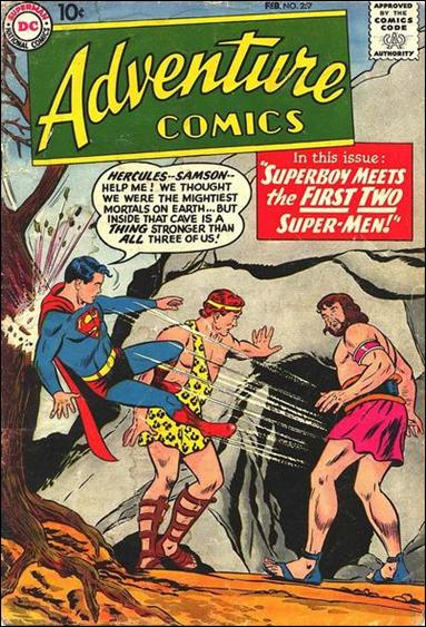 Adventure Comics (1938) 257-A by DC