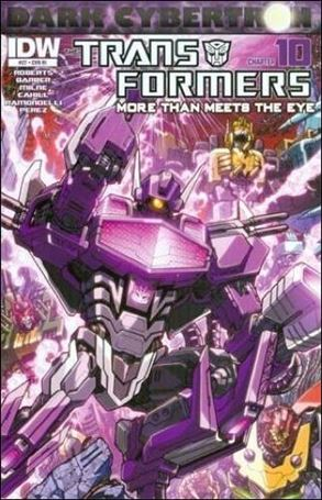 Transformers: More Than Meets the Eye (2012) 27-C