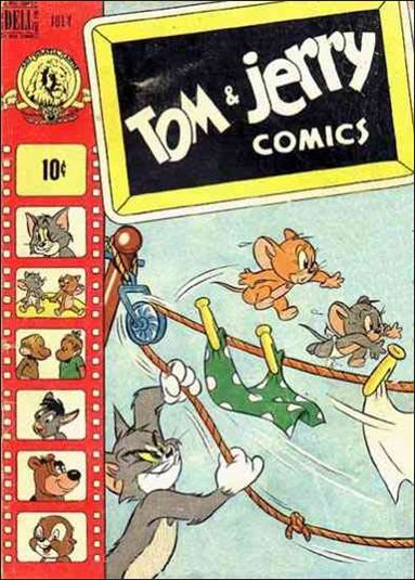 Tom &amp; Jerry Comics 60-A by Dell