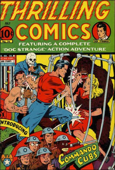 Thrilling Comics (1940) 36-A by Standard