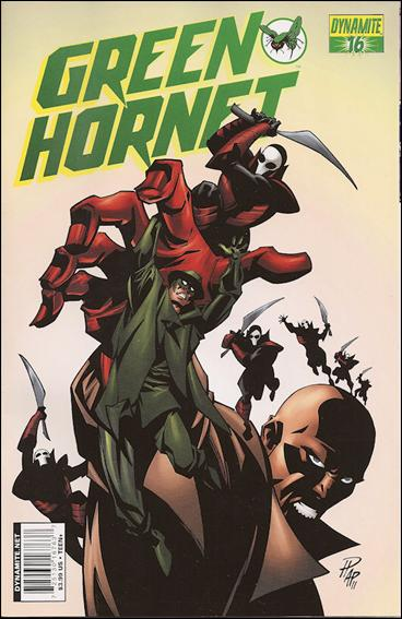 Green Hornet (2010) 16-A by Dynamite Entertainment