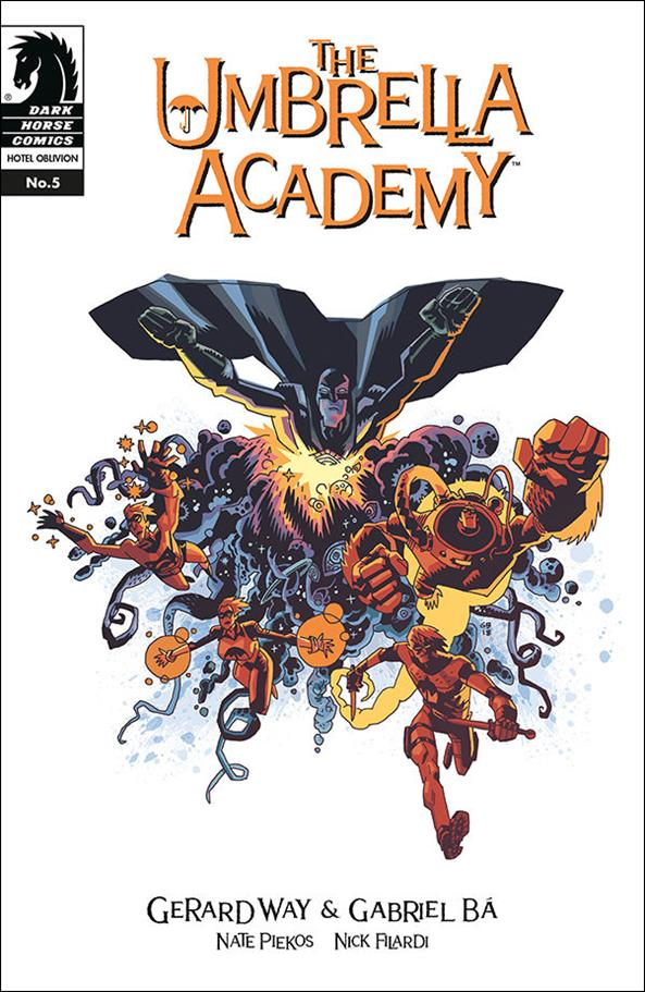 Umbrella Academy: Hotel Oblivion 5-A by Dark Horse