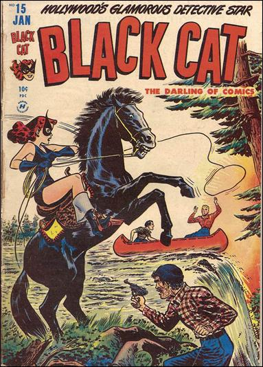 Black Cat Comics 15-A by Harvey