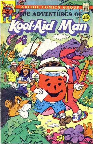 Adventures of Kool-Aid Man (1988) 8-A by Archie