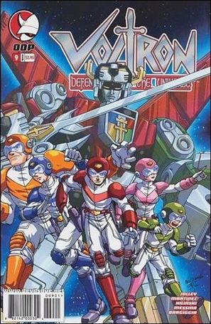 Voltron: Defender of the Universe (2004) 9-A
