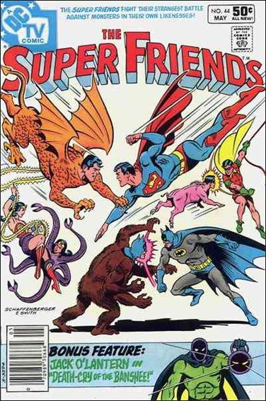 Super Friends (1976) 44-A by DC