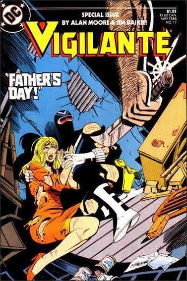 Vigilante (1983) 17-A by DC