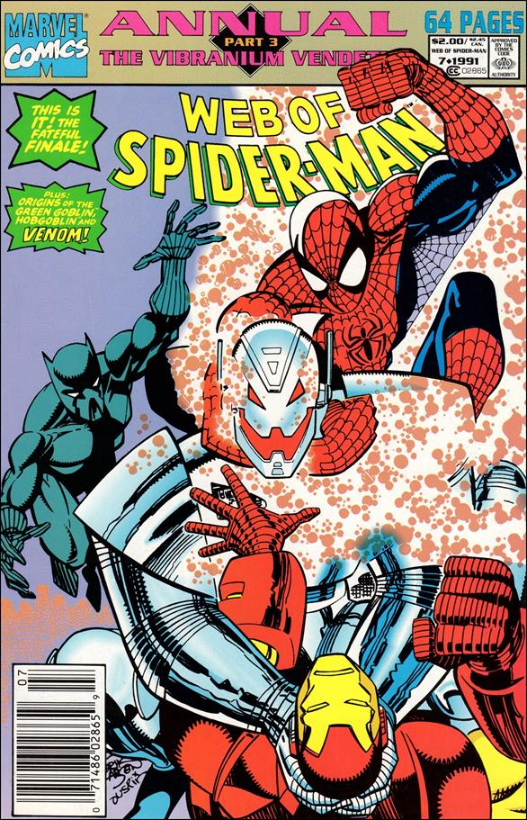 Web of Spider-Man Annual 7-A by Marvel