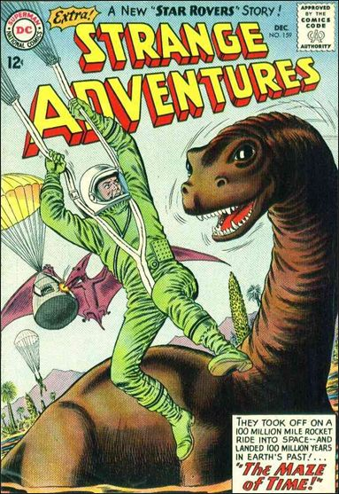Strange Adventures (1950) 159-A by DC