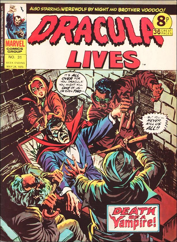 Dracula Lives (UK) 31-A by Marvel UK