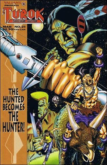 Turok: Dinosaur Hunter (1993) 21-A by Valiant