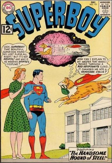 Superboy (1949) 101-A by DC