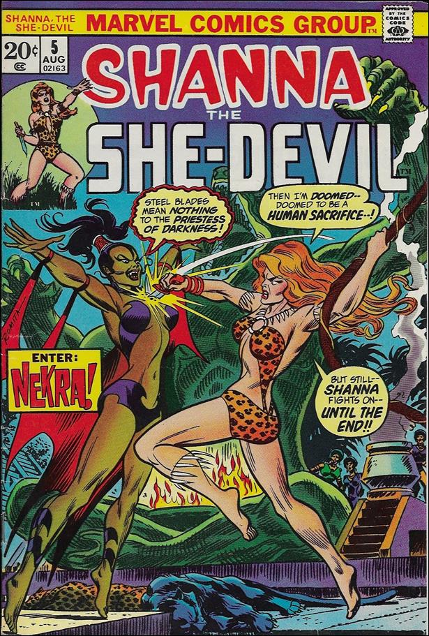 Shanna the She-Devil (1972) 5-A by Marvel