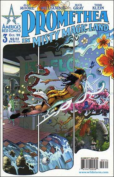 Promethea 3-A by America's Best Comics
