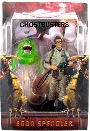 Ghostbusters: Movie Masters Slimed Egon Spengler (with Slimer) by Mattel