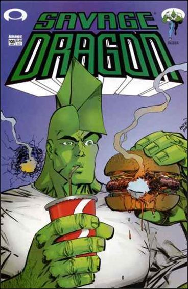 Savage Dragon (1993) 105-A by Image