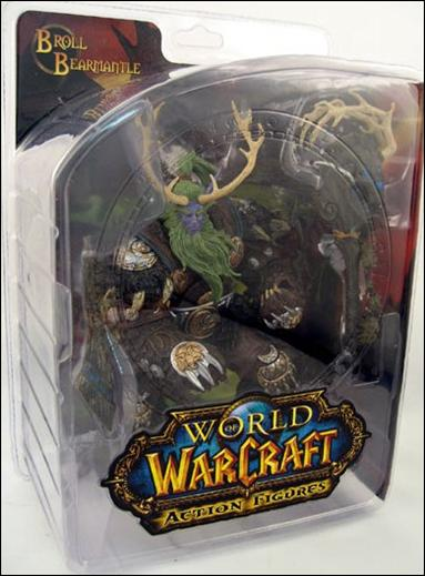 World of Warcraft (Series 2) Broll Bearmantle (Night Elf Druid) by DC Direct