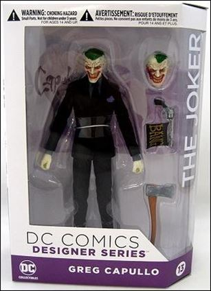 DC Designer Series: Greg Capullo The Joker