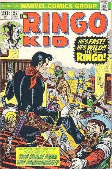 Ringo Kid 22-A by Marvel