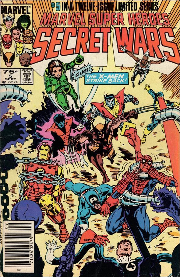 Marvel Super Heroes Secret Wars 5-A by Marvel