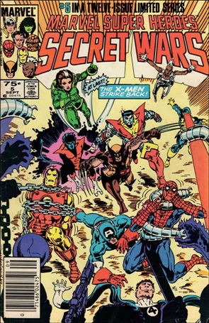 Marvel Super Heroes Secret Wars 5-A