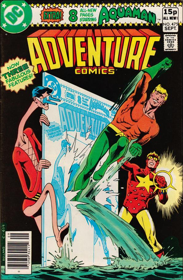 Adventure Comics (1938) 475-B by DC